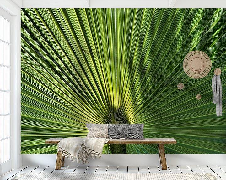 Sfeerimpressie behang: Palm van Paul Arentsen