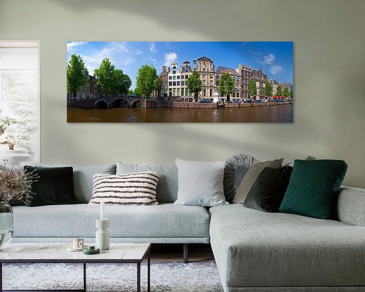 Sfeerimpressie: Panorama Herengracht van Anton de Zeeuw