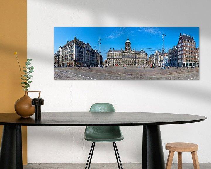Sfeerimpressie: Panorama Dam Amsterdam van Anton de Zeeuw