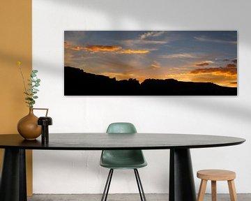 Sunset Canyon de Chelly - Arizona   van Tonny Swinkels