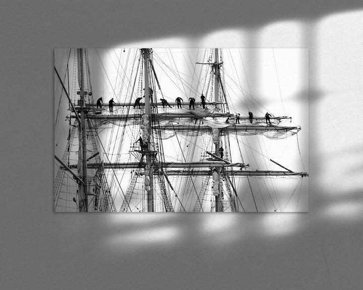 Beispiel: sailing von Annette Sturm