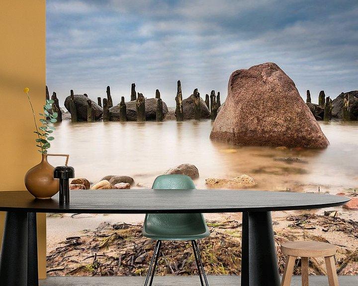 Beispiel fototapete: An der Küste der Ostsee von Rico Ködder