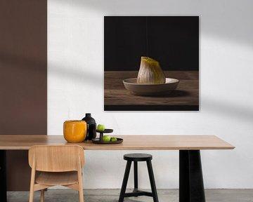 Stilleven - Garlic and Oil no. 1 van Alexander Tromp