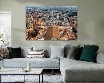 Rome - Vaticaanstad met Sint-Pietersplein