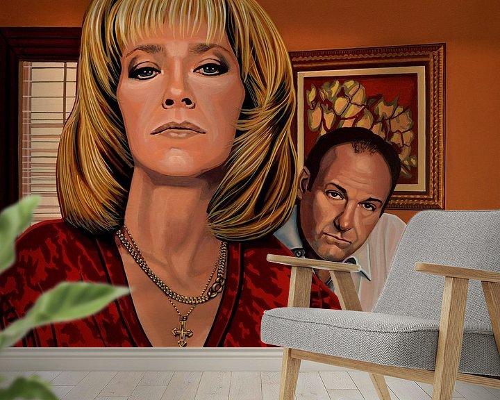 Beispiel fototapete: The Sopranos Painting von Paul Meijering