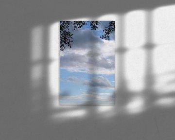 Wolken en natuur van Peter Hartman