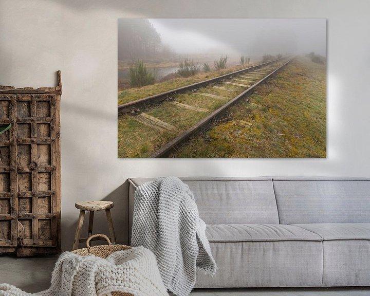 Beispiel: Oude spoorlijn Borkense Baan€ nabij de Duitse grens in de g von Tonko Oosterink