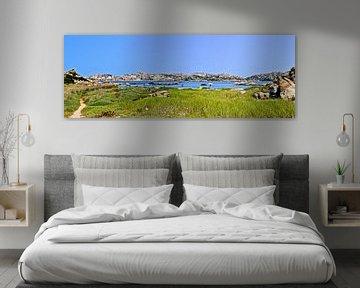 Het strand van La Maddalena - Sardinië, Italië van Be More Outdoor