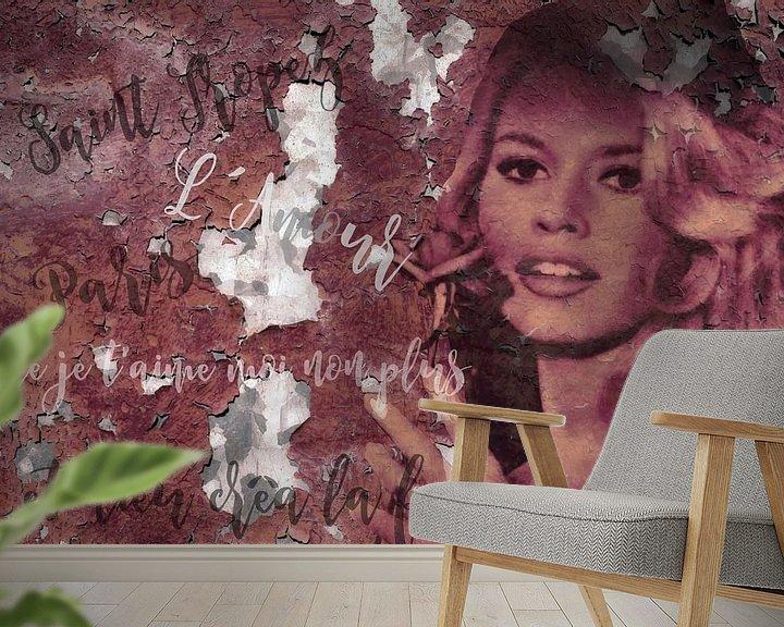 Beispiel fototapete: Legenden - Brigitte Bardot von Christine Nöhmeier