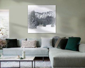 Bavarian Winter's Tale III van Melanie Viola