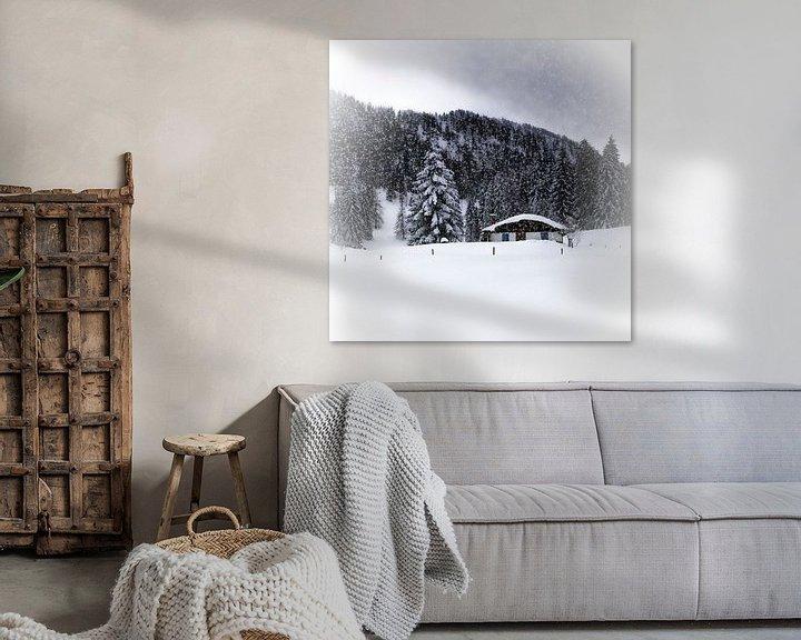 Beispiel: Wintermärchen HEMMERSUPPENALM VIII von Melanie Viola
