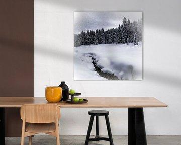 Bavarian Winter's Tale VII van Melanie Viola