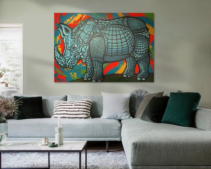 Sfeerimpressie: Neushoorn van Jeroen van Dongen
