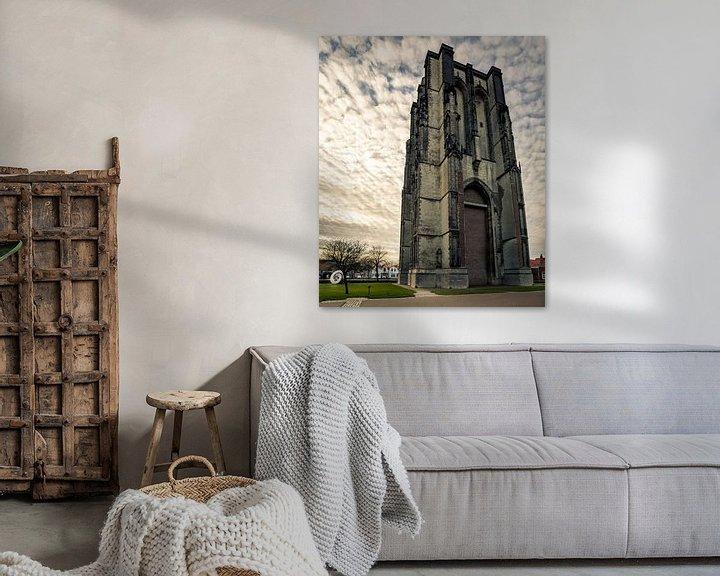 Sfeerimpressie: Dikke toren Zierikzee van Thomas Lang