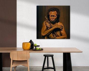 Miles Davis Schilderij von Paul Meijering