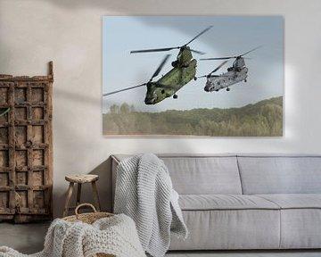 Koninklijke Luchtmacht CH-47 Chinook van Dirk Jan de Ridder