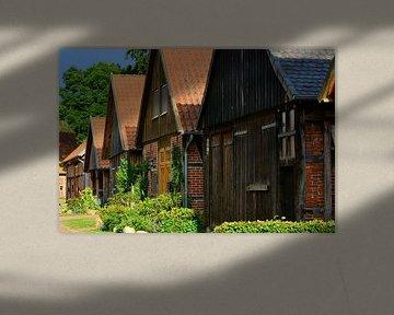 Ahlden's Historic Barn District van Gisela Scheffbuch