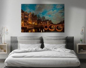 Keizersgracht Painting von Marc Smits