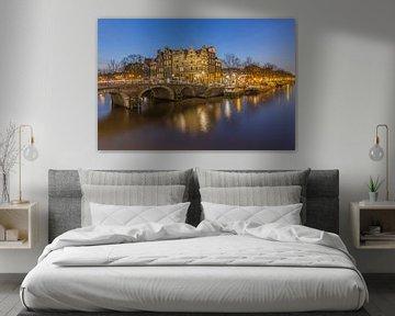 Papiermolensluis en Brouwersgracht in Amsterdam - 4 van Tux Photography