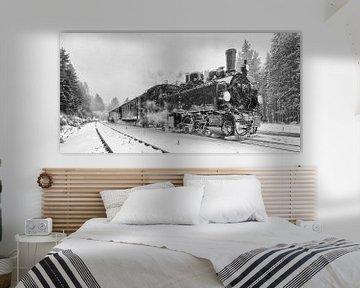 Les trains à vapeur du Harz, les temps anciens revivent sur Hans Brinkel