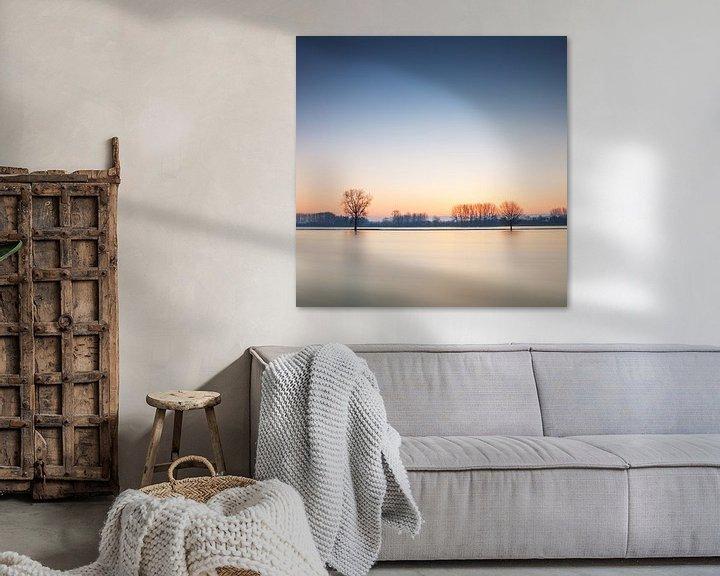 Sfeerimpressie: Water en Bomen van Ruud Peters