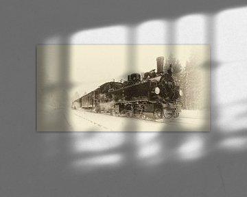 Les trains à vapeur dans les montagnes du Harz, les temps anciens revivent sur Hans Brinkel