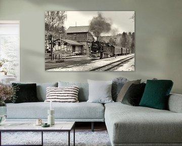 Stoomtreinen in de Harz, tijden van weleer herleven sur Hans Brinkel