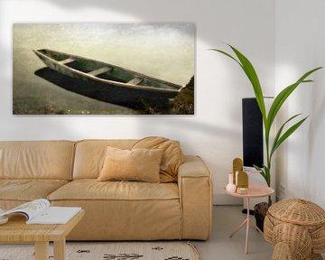 Auland - Grünes Boot von Christine Nöhmeier