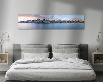 Panorama Haven Volendam van Chris Snoek