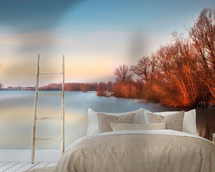 Sfeerimpressie behang: Het eerste licht van Ruud Peters