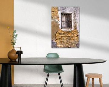 Textur mit Fenster in Mauer von Artstudio1622