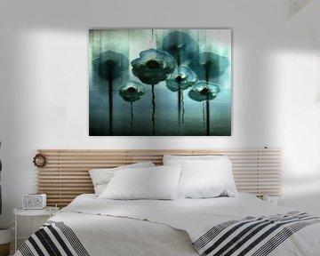 Ijs bloemen van Christine Nöhmeier