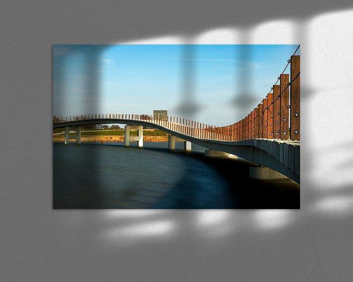 Beispiel: Zaligebrug in aanbouw von Maerten Prins