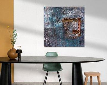 abstrakte Kunst einer Wand von Artstudio1622