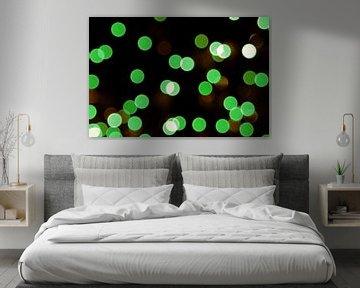 Groene lichtjes van Miranda van Hulst