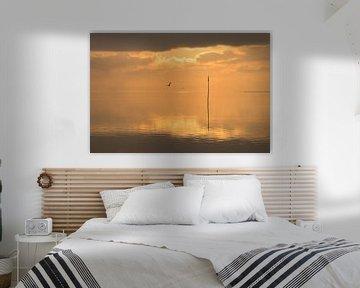 Windstille am Meer von Annette Sturm