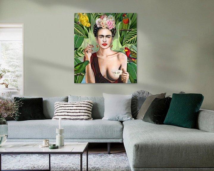 Impression: Frida con amigos sur Nettsch .
