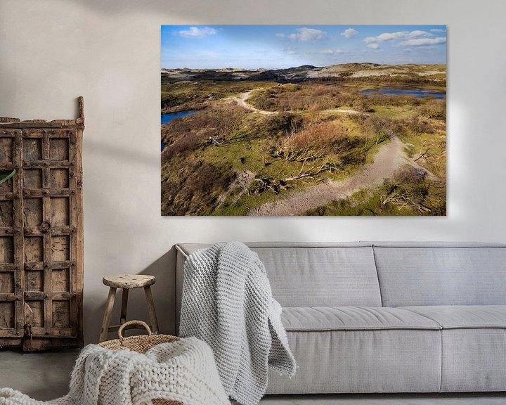 Sfeerimpressie: Wandelpad in de duinen van Egmond van Fotografie Egmond