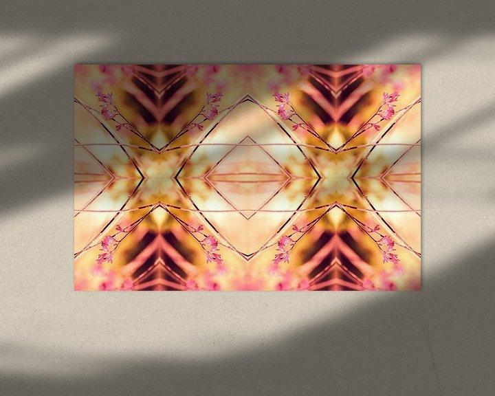 Sfeerimpressie: PINK SPANGLES no9-R1L van Pia Schneider
