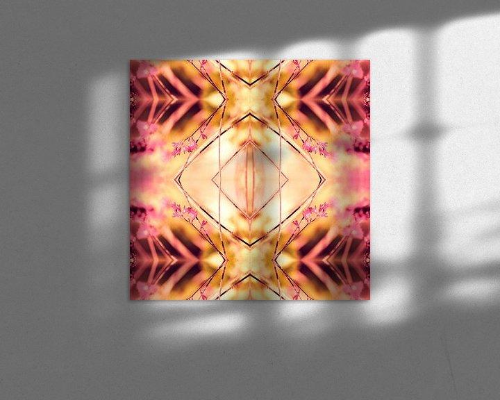 Sfeerimpressie: PINK SPANGLES no9-R1 van Pia Schneider