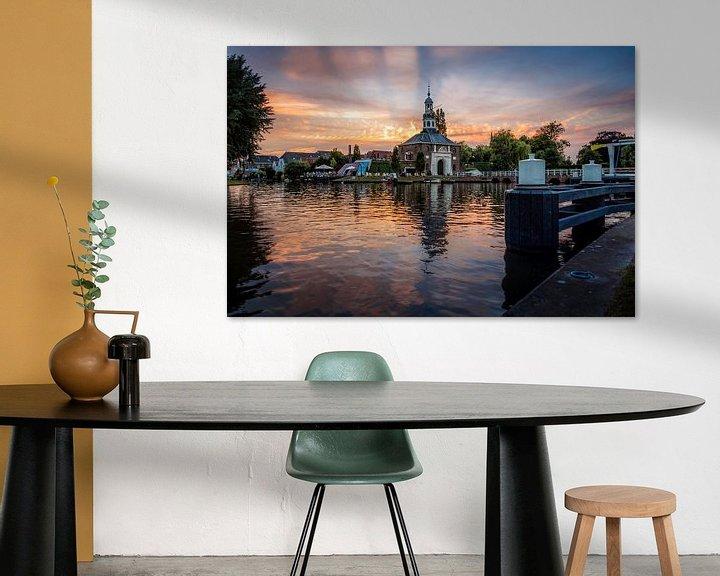 Sfeerimpressie: Zijlpoort in Leiden van Martijn van der Nat
