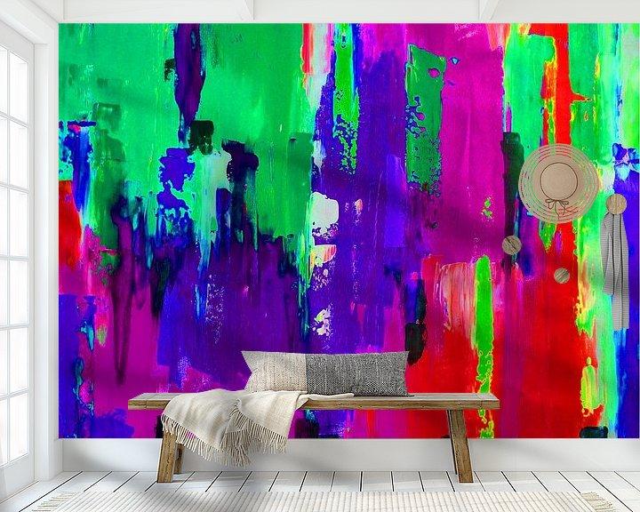 Sfeerimpressie behang: Bright Lights 1  van Emma Ball