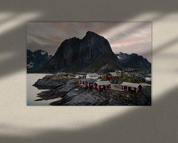 Hamnøy (Lofoten, Noorwegen) van Martijn Smeets