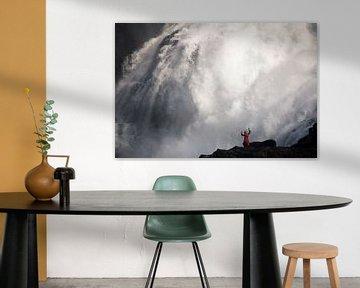 Kjosfossen (Myrdal, Noorwegen) van Martijn Smeets