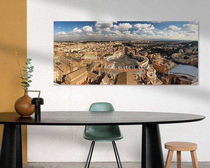 Sfeerimpressie: Rome en Vaticaan panorama van Sjoerd Mouissie