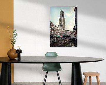 De Dom van Utrecht en de Vismarkt