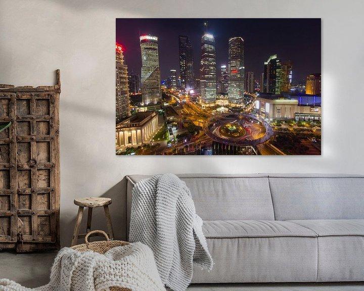 Sfeerimpressie: De bund Shanghai van Paul Dings