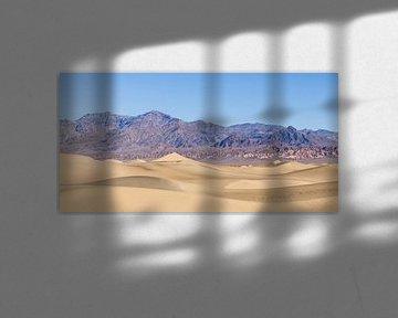 Death Valley zandduinen van Jasper Arends