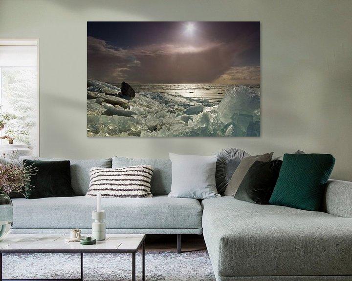 Sfeerimpressie: Kruiend ijs van Maurice Hertog