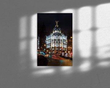 Madrid, Edificio Metropolis von Jan Sluijter